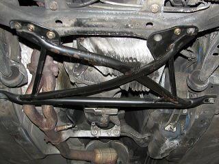 E36 M3 ボディ剛性バランス修正