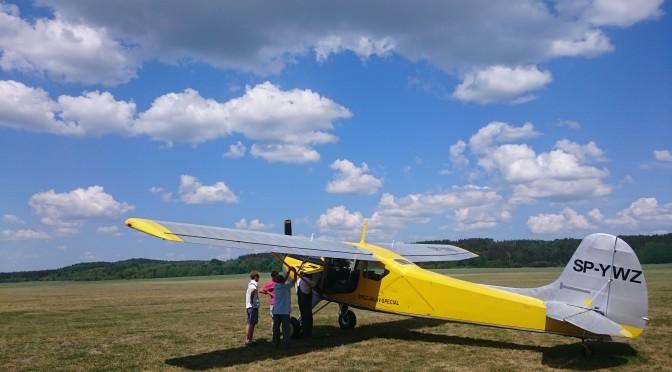 機体整備で北に飛ぶ