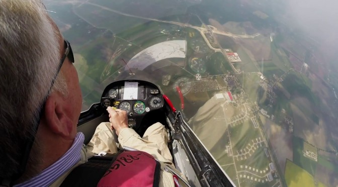 Unlimited Glider Aerobatics Display
