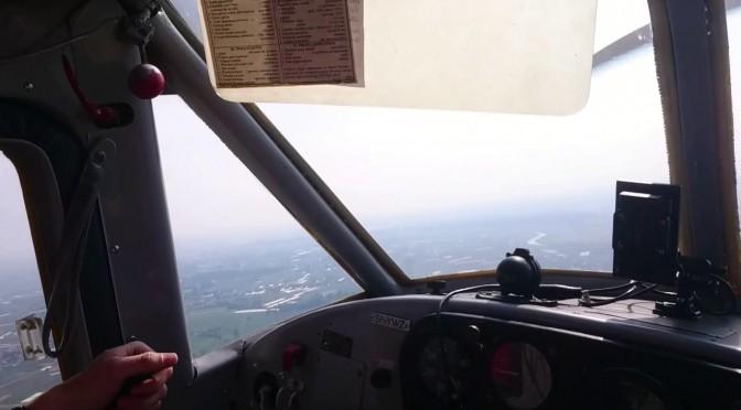 クラクフのエァショーへ飛ぶ