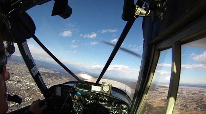 今日はグライダー曳航します!