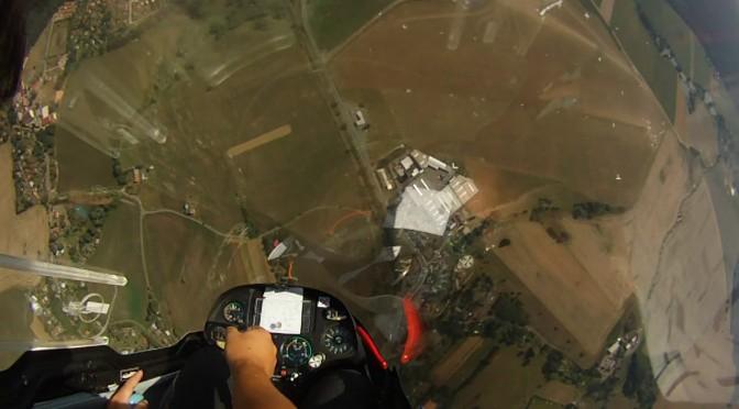 グライダー曲技飛行世界選手権 競技1日目