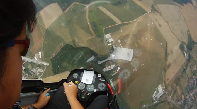 グライダー曲技飛行世界選手権 競技3日目
