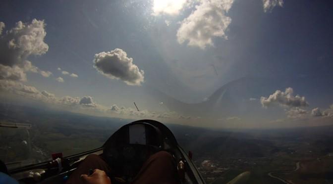 グライダー曲技飛行世界選手権 公式練習2日目