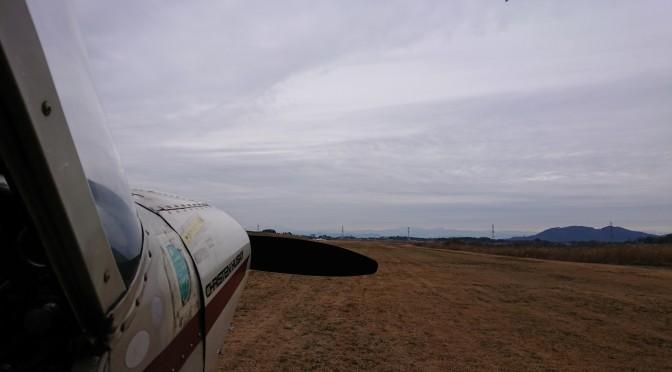 週末のグライダー曳航 【もうちょっと晴れると思ってたんだけど、、、】