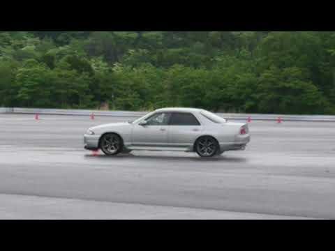 R33 GT-R 「大先輩号」 砂子塾に行ってきました!①