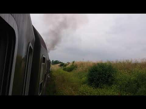 レシュノ 5日目 【天候がイマイチだから蒸気機関車!】